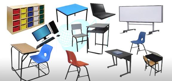 Equipo y mobiliario escolar for Mobiliario y equipo